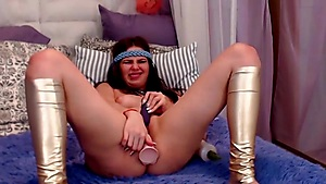 Hot Babe Gets Wet Quickly Livecam
