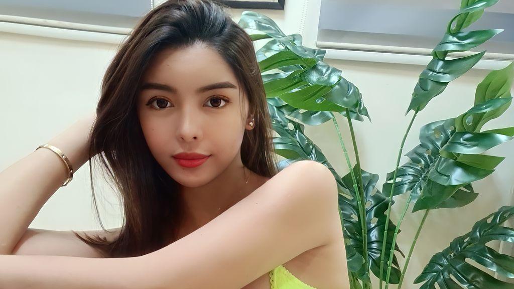 Beautiful Busty Asian Cam Girl