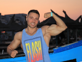 Hot picture of rippedmuscle